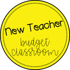 New Teacher Budget Classroom