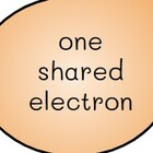 one shared electron