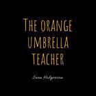 Orange Umbrella Teacher