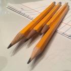 Pencils and Glue Sticks
