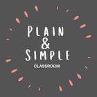 Plain and Simple Classroom