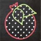 Polka Dot Pomegranate