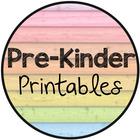 Pre-Kinder Printables