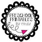 Preschool Printables by Emily