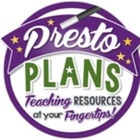 Presto Plans: Teacher-Author on TpT