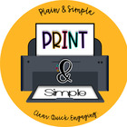 Print and Simple
