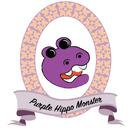 Purple Hippo Monster