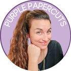 Purple Papercuts