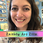 Rainbow Art Room