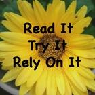 Read It Try It Rely On It