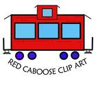 Red Caboose Clip Art