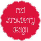 Red Strawberry Design