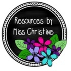 Resources by Miss Christine