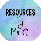 Resources by Ms G