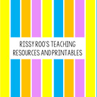 Rissy Roo's teaching resources and printables