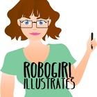 Robogirl Illustrates