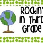 Rockin in Third Grade