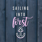 Sailing into First