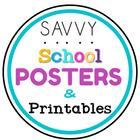 Savvy School Printables and Student Teaching