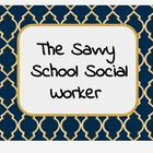 Savvy School Social Worker
