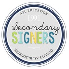 Secondary Signers