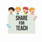SHARE FOR TEACH CLIPARTS