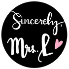 Sincerely Mrs L