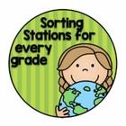 Sorting Stations in Social Studies