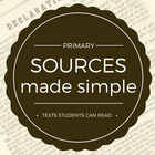 Sources Made Simple