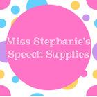 Speech with Miss Stephanie