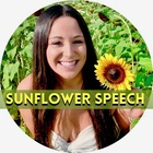 """Sunflower Speech Therapy- """"Never Stop Growing"""""""