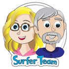 Surfer Kids Clip Art