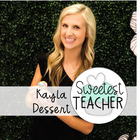 Sweetest Teacher- Mrs Dessert