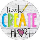 Teach Create Heart