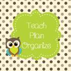 Teach Plan Organize