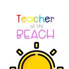 teacher at the beach