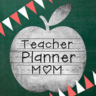 Teacher Planner Mom