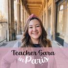 Teacher Sara in Paris