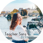 Teacher Sara in Paris