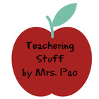 Teachering stuff by  Mrs Pao
