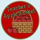 Teacher's Apple Basket