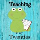Teaching In My Twenties