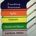 Teaching Resources by Kim