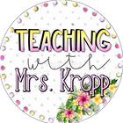 Teaching With Mrs Kropp