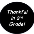 Thankful in 3rd Grade