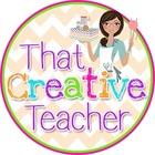 That Creative Teacher