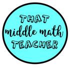 That Middle Math Teacher