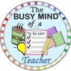 The Busy Mind of a Teacher