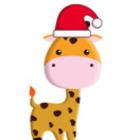 The Festive Giraffe
