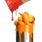 The Orange Paintbrush